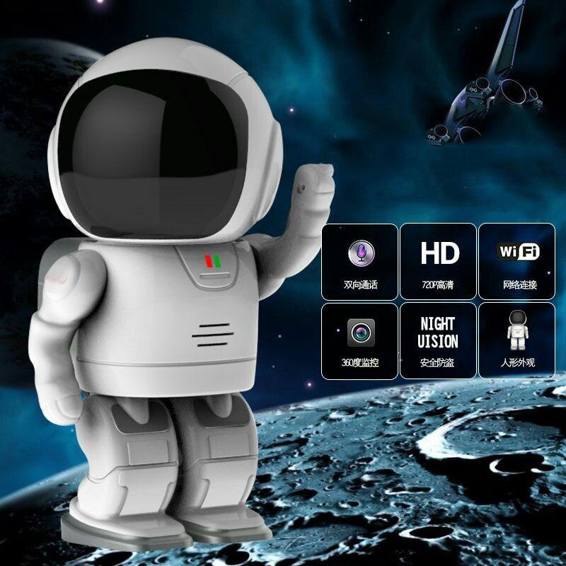 Clock Robot Wireless IP Security Camera with Onvif