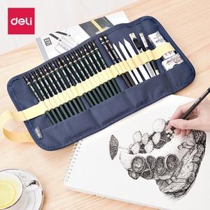 Image 4 - Juego de 27 piezas por set de bocetos, lápiz, herramientas de dibujo de pintura para principiantes, estudiantes profesionales con arte material de pintura, conjunto para adultos