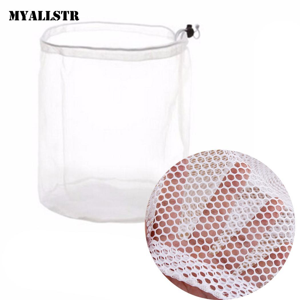 Drawstring Laundry Bag Washing Machine Use Clothing Fine Mesh, Coarse Mesh Wash Mesh Bag