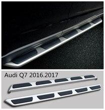 Для Audi Q7 2016.2017 Автомобиля Подножки Подножка Бар Педали Высокое Качество Новый Оригинальный Моделей Nerf Бары