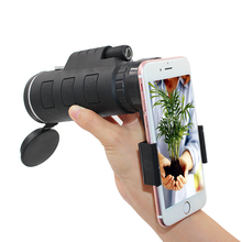 Girlwoman 40X Zoom Monocular Mobile Phone Telescope 40×60 For Iphone Huawei Xiaomi Smartphones Camera lenses Outdoor Hunting