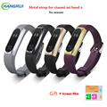 New Xiaomi Mi Band 2 Bracelet Strap Miband 2 Colorful Metal Strap Wristband Replacement Smart Band Accessories For Mi Band 2s