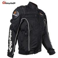 JK08 Motorcycle Protector Jacket Suit Motorbike Protection Riding Clothing Mesh jaqueta motoqueiro wear Moto Jackets