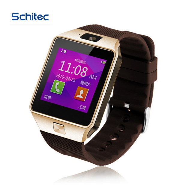 Smart Watch Latest Card Bluetooth Support Android Apple System,Battery Smart Mobile Phone Watch With SIM Card DZ09 ios