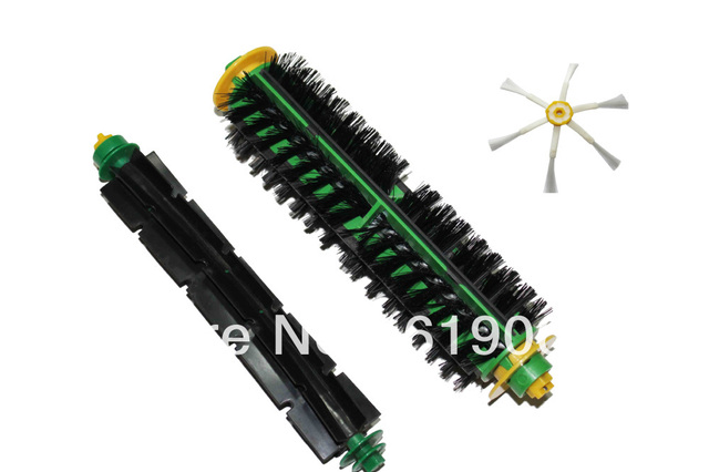 Replacement Brush for iRobot Roomba 500 510 530 560 570 580  Cleaner Bristle Brush and Flexible Beater Brush