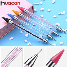 Huacan 5D Diamond Painting Pen Accessories Rhinestones Mosaic Pictures Double Head Embroidery Point Drill