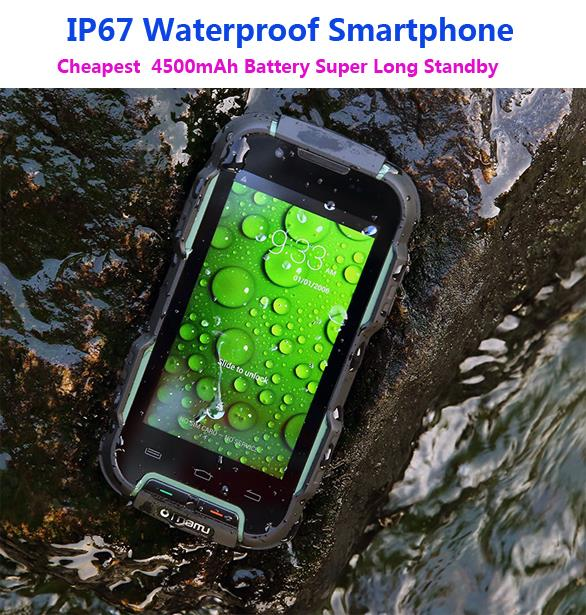 IP67 Waterproof Phone Rugged Smartphone Android Shockproof Mobile Extrem Phone outdoor 4500mAh MTK6572 3G OINOM LMV9D Z6 v5