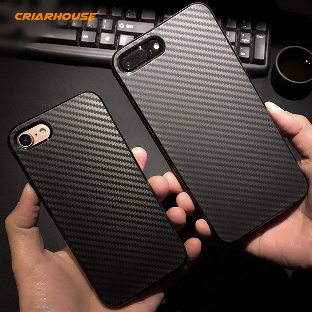 coque iphone 8 plus carbone