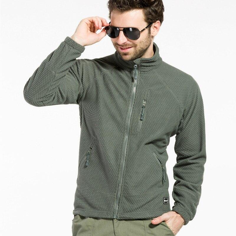 2015 Nueva brandt Hombres fleece chaquetas de senderismo al aire libre deporte J