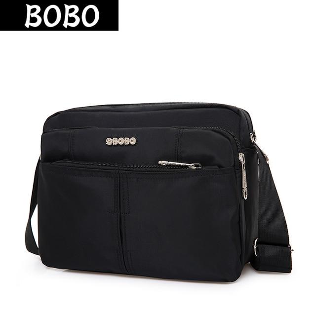 BOBO Brand Women Shoulder Bags Waterproof Nylon Handbags For Men Messenger  Bags Female Crossbody Bags Casual db61147215a40