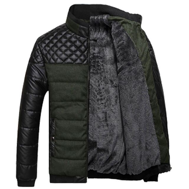 Wadded jacket male winter outerwear cotton-padded jacket men's clothing quinquagenarian Men winter clothes cotton-padded jacket