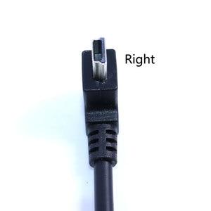 Image 5 - YuXi USB 2.0 żeńskie do Mini USB typu B 5pin 90 stopni w górę i w dół oraz w lewo i w prawo pod kątem mężczyzna kabel do transmisji danych