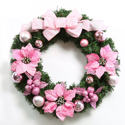 Online Get Cheap Pink Christmas Wreath -Aliexpress.com | Alibaba Group