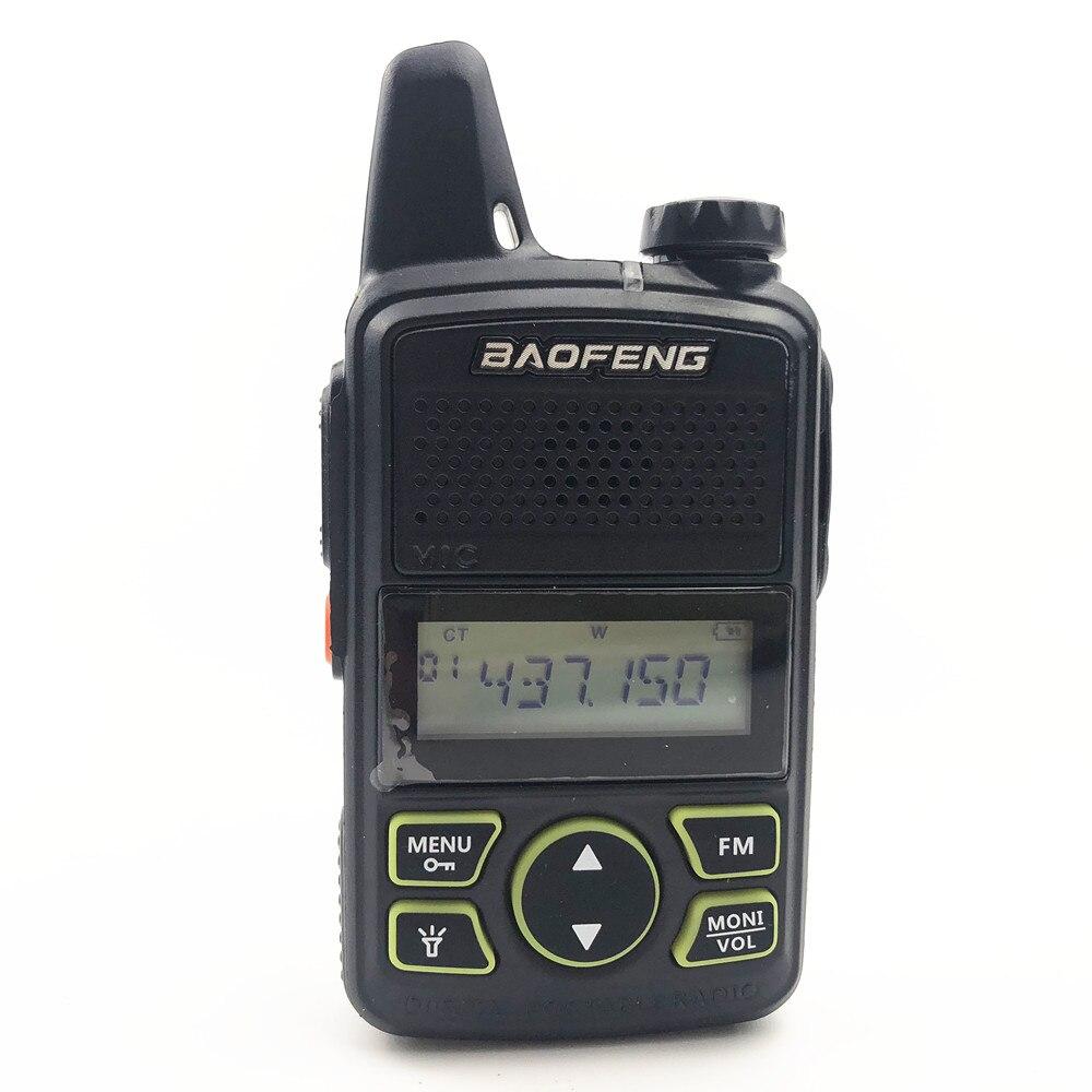 c41d09214a7 Baofeng BF T1 MINI Kids Walkie Talkie Ham Two Way Radio Comunicador ...