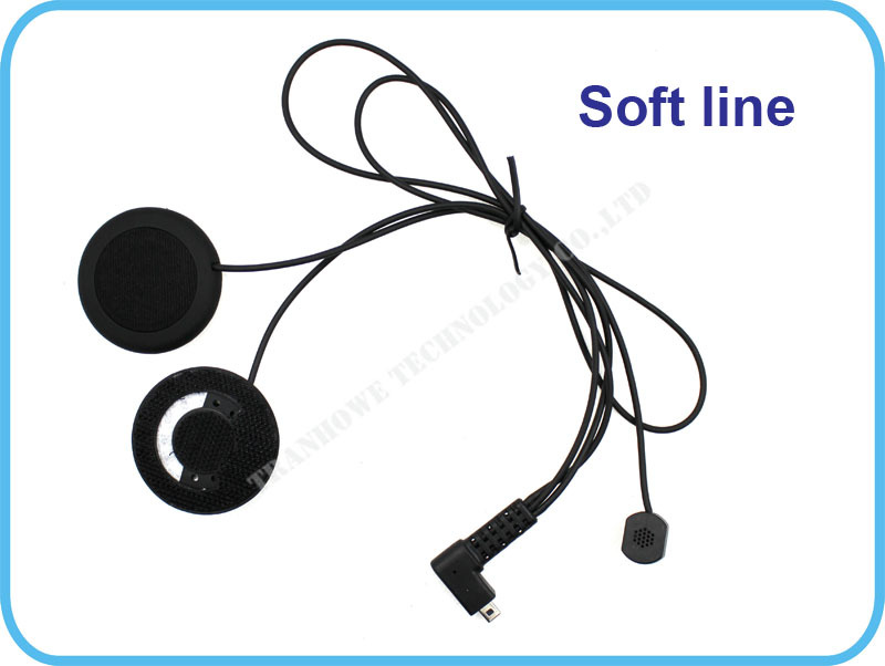 500M FreedConn FDCVB Motorrad BT Bluetooth Multi Sprech Headsets Headset Helm Intercom Handfree + Extra Weiche Hörer