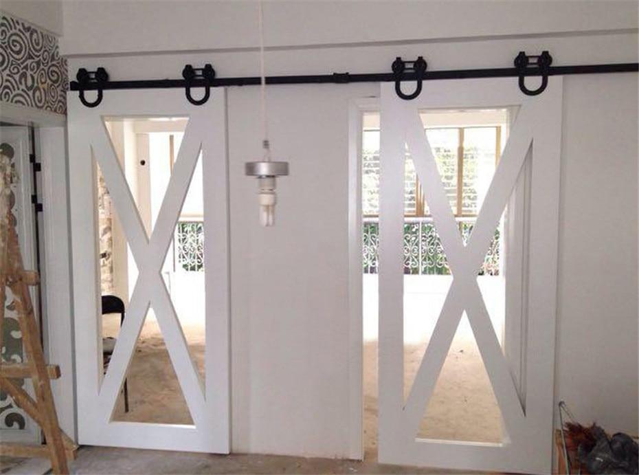 7 5 8 10 12 13 15 ft horseshoe u shaped sliding barn door for 10 ft sliding glass door