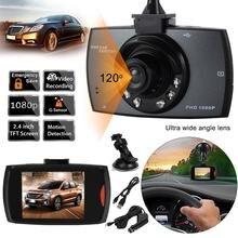 """2.4 """"LCD 720 Del Coche de HD DVR del Vehículo Auto Sensor de La Cámara Grabadora de Vídeo Dash Cam Videocámara"""