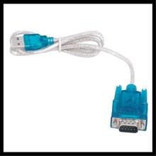 Wholesale New CH340 USB to RS232 COM Port Serial PDA 9 pin DB9 Cable Adapter Support Windows7