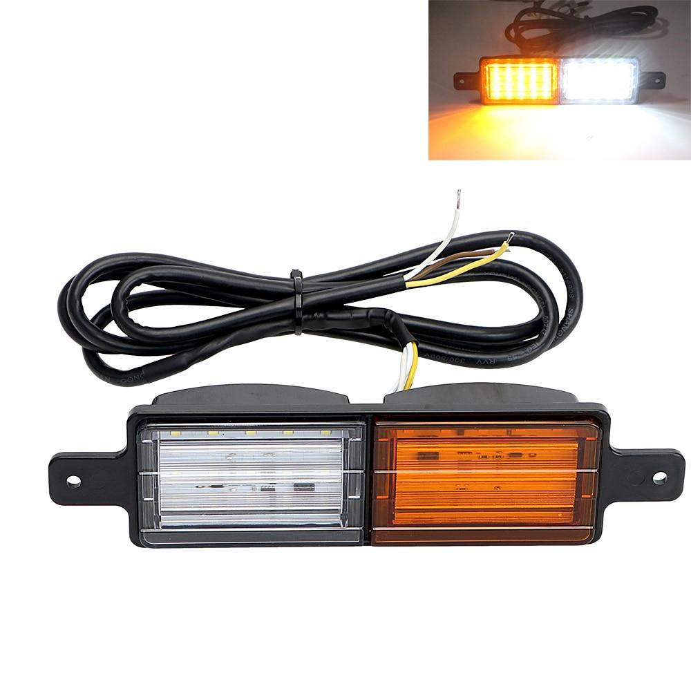 Car Taillights Rear Warning Lights 30 LED Caravan Truck UTE Van Lamp Tail Trailer Light Indicator Yellow/White Waterproof alpine ute 81r в харькове