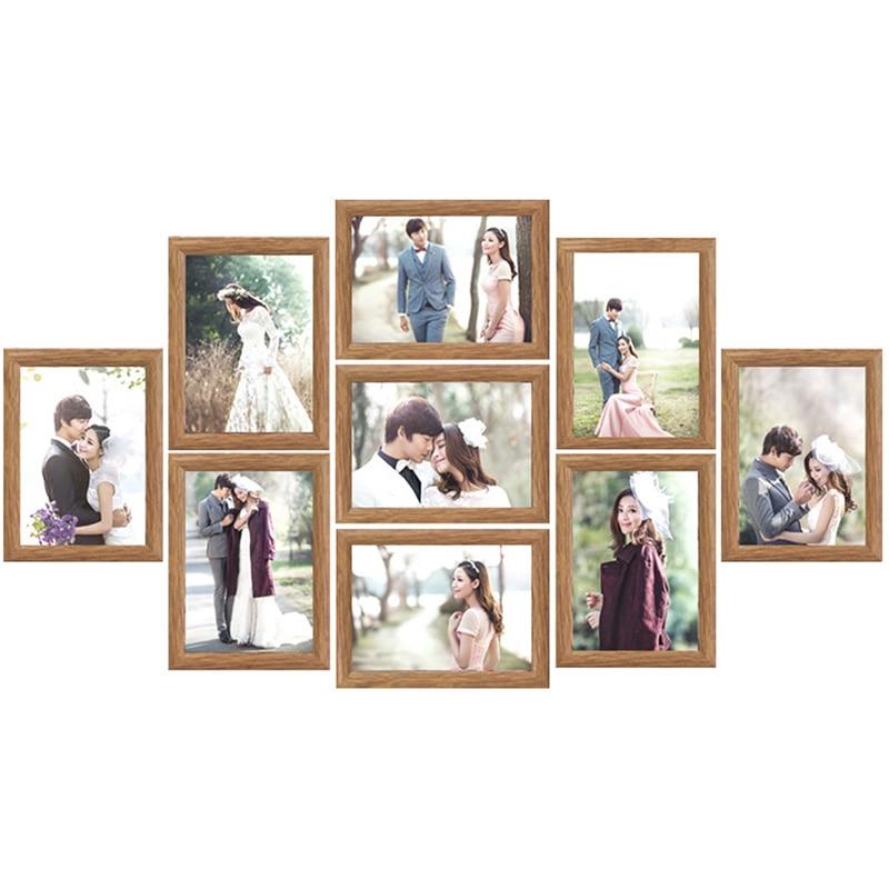 Family Wedding Photo Frame Set Resin Wedding Couples Wall