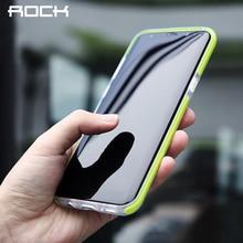 Rock guard серии телефон case для samsung galaxy s8 s8 плюс Антидетонационных Задняя Крышка Протектор С Край Двухслойный ТПУ TPE