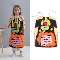 Baby Educational Toys Children's Puzzle Teaching Understanding Visceral Toys Visceral Apron Educational Toys