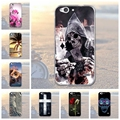 For ZTE Blade S6 Case Transparent TPU Soft Case For ZTE Blade S6 3D Relief Printed Flower Silicon Cover For ZTE S6 Cover Case