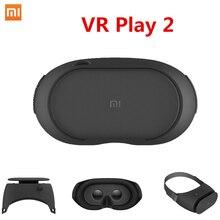 Date D'origine Xiaomi Mi VR Jouer 2 Lunettes de Réalité Virtuelle 3D lunettes Immersive pour 4.7-5.7 pouce pour Téléphones Intelligents VR 2.0 BOÎTE