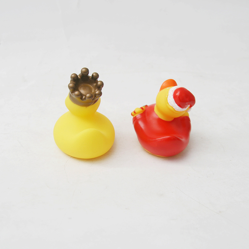 2pcs/lot Drink Float Water Swimming Child's Play Yellow Rubber Duck Educational For Children Baby Bath Toys