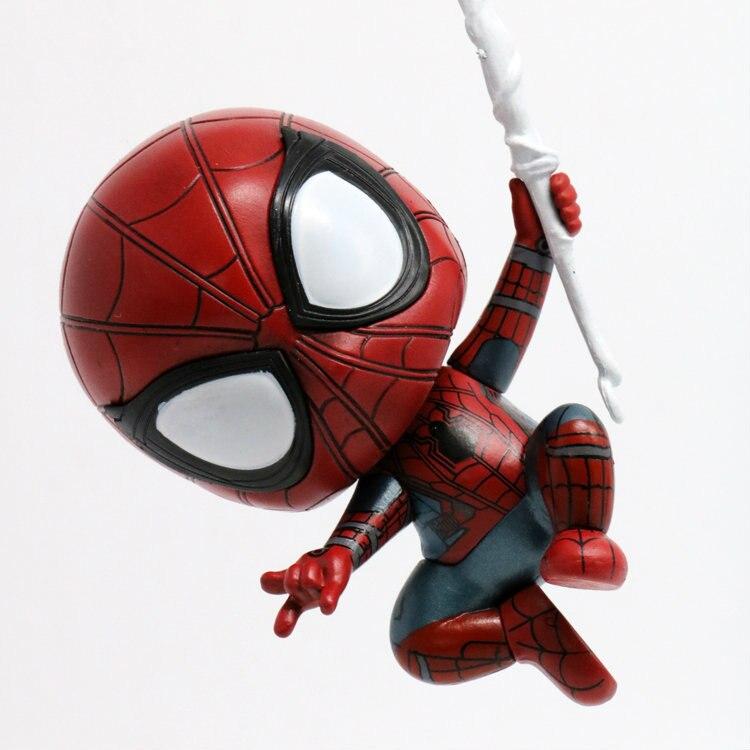 Spider man q ver l uomo che È tornato iron man con scatola di