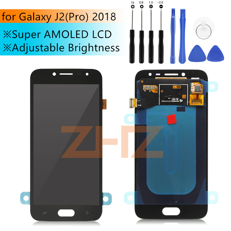 Super Amoled for Samsung Galaxy J2 Pro 2018 J250F/DS LCD Digitizer for Galaxy Touch Screen Grand Prime Pro 2018 Repair PartsSuper Amoled for Samsung Galaxy J2 Pro 2018 J250F/DS LCD Digitizer for Galaxy Touch Screen Grand Prime Pro 2018 Repair Parts