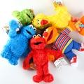 НОВЫЙ 7 Стилей Улица Сезам Elmo Cookie Гровер Зои и Эрни Большая Птица Чучело Плюшевые Игрушки Куклы Подарок Детям