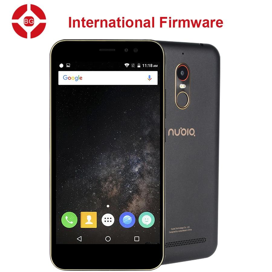 "BG Original ZTE Nubia N1 Lite NX597J 4G LTE Mobile Phone MT6737 Quad Core 5.5"" 720P 2G RAM 16GB ROM 8MP 3000mAh Fingerprint"