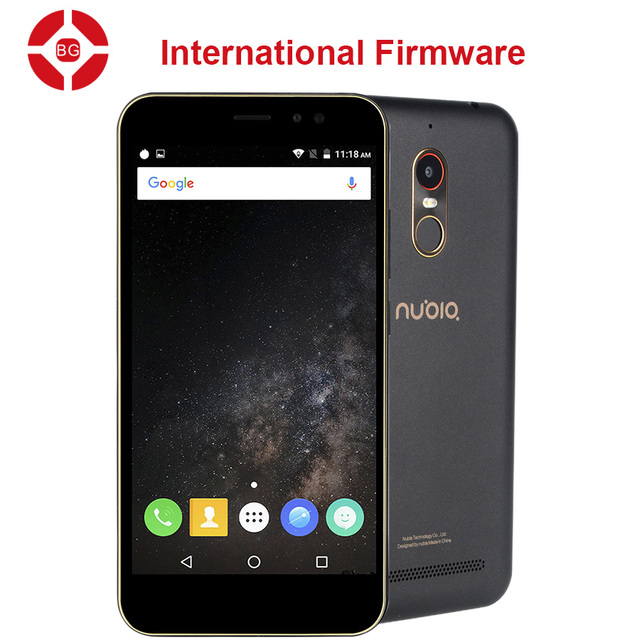"BG Original ZTE Nubia N1 Lite NX597J 4G LTE Mobile Phone MT6737 Quad Core 5.5"" 720P 2G RAM 16GB ROM 8MP 3000mAh Fingerprint"