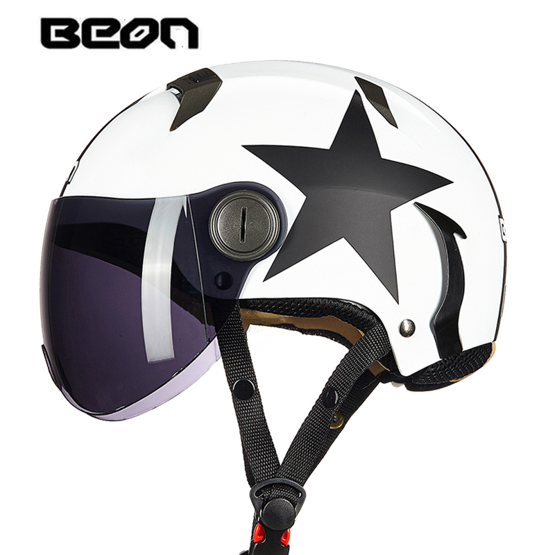 Motorcycle Helmet Open Face Half Helmet Motorbike Protection Gear Downhill HelmetSummer Breathable Capacetes De Motociclista
