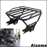Motorcycle Detachable Two Up Luggage Rack For Harley Touring Road King Road Glide Electra Street Glide FLHT FLHX FLTR 1997 2008