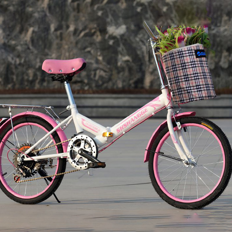 Fold Bike High Quality Carbon Steel Material 20 Inch Wheel Material Cycling Equipment Manufacturer