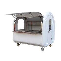 Chiny dostawca kolorowe mobilny wózek na żywność/food track/przyczepa do żywności
