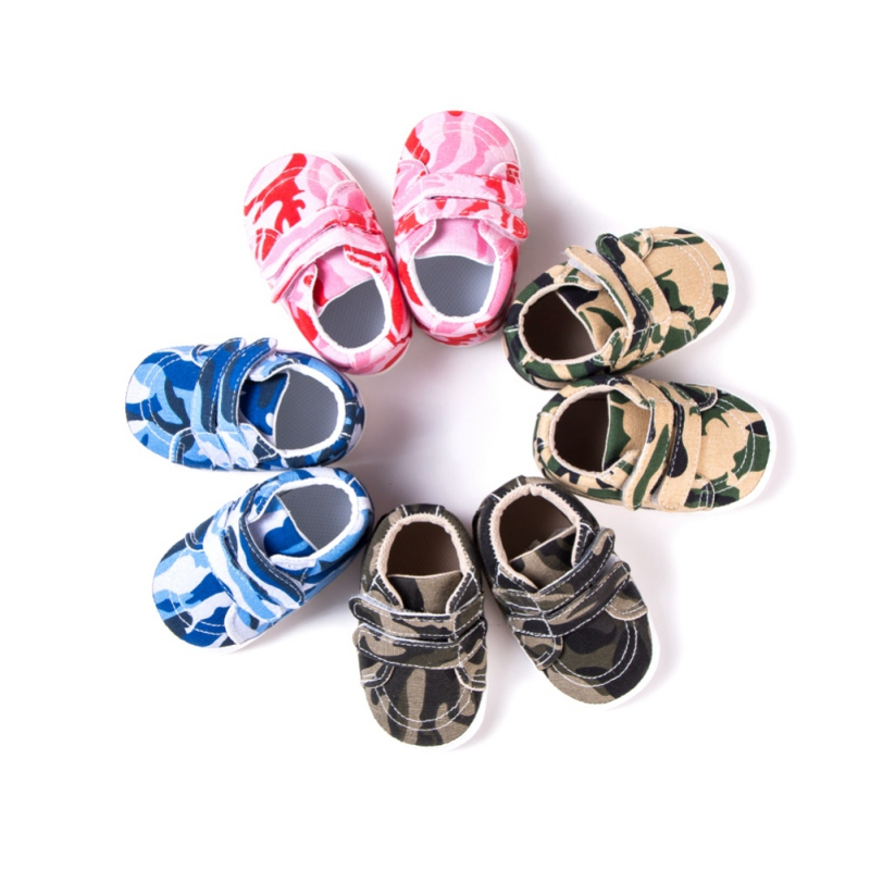 Spring Autumn Baby shoes Girl Children Camouflage shoes Baby Boys Girl little kids shoes
