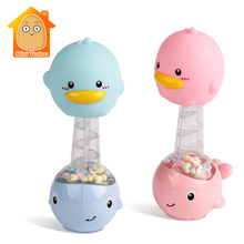 Baby Stroller Toys 0-12 Month Educational BB Rubber Duck Han