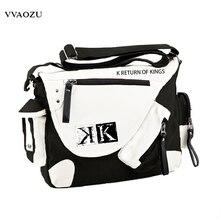 Messenger-Bag Book-Shoulder-Bag Mutifunctional Mikoto K-Project Suoh Cosplay Anime Students