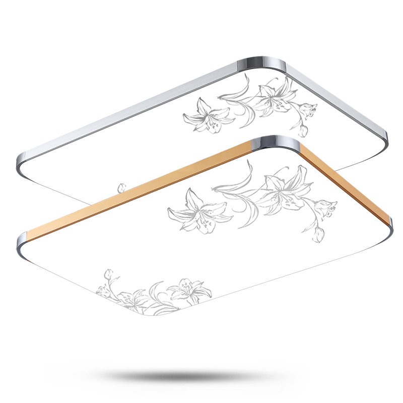 ФОТО Ultra-thin 2016 new flowers Aluminium modern led ceiling light living room bed room study room ceiling lamp  free shipping