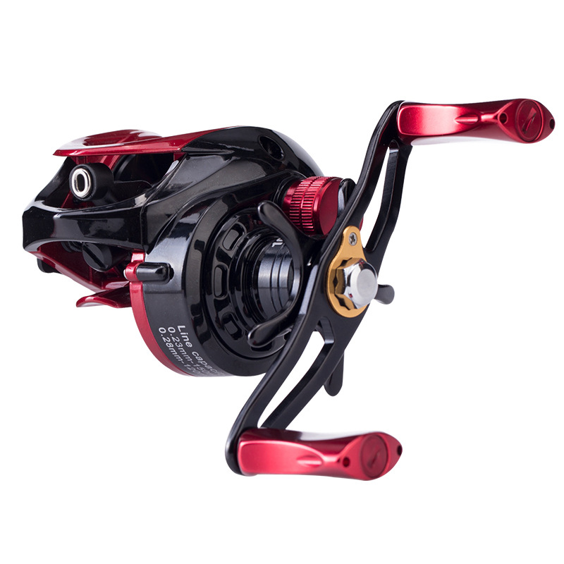 TSURINOYA 6.6:1 9+1BB Hight Quality Ulttra Light Bait Casting Reel Left Right Hand Metal Spool Baitcasting Reel Fishing Reels rover drum saltwater fishing reel pesca 6 2 1 9 1bb baitcasting saltwater sea fishing reels bait casting surfcasting drum reel