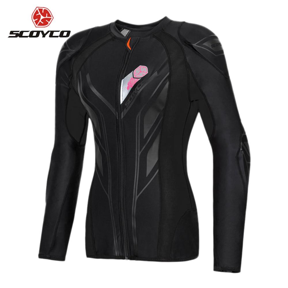 SCOYCO Motorcycle Jacket Women Motocross Protection Protective Gear Motocross Armor Racing Body Armor Moto Jacket Moto