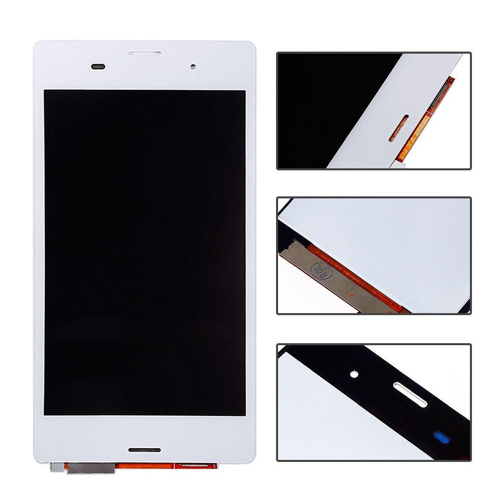 """imágenes para 5 """"Blanco Para Sony Xperia Z3 D6603 D6653 L55t LCD pantalla de Visualización de la Pantalla Pantalla Táctil Digitalizador Asamblea piezas de repuesto"""