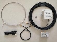 Antena de recepção ativa MLA 30 khz 30 mhz da antena 100 do laço para o rádio de ondas curtas