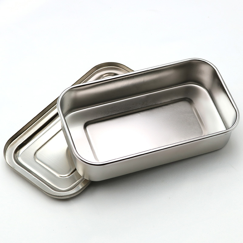 Image 4 - 304 thick medical stainless steel disinfection tray square plate 