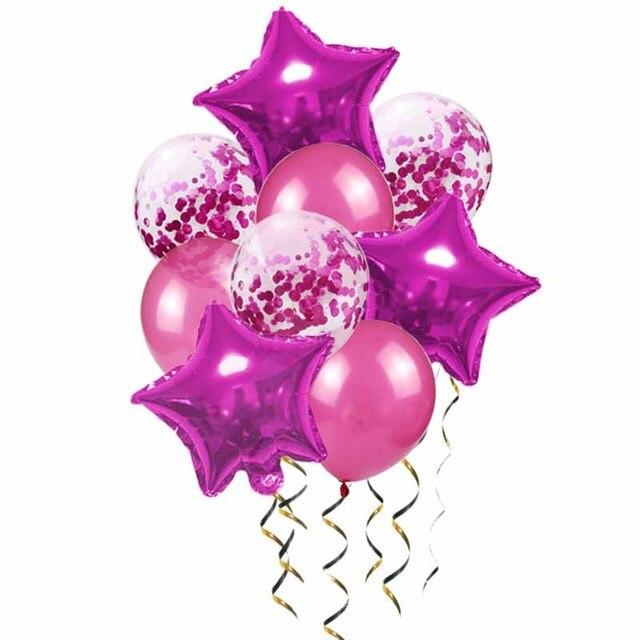 ballon rose red