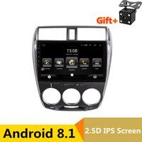 10,1 2G ram 32G ram Android автомобильный DVD видео плеер gps для HONDA CITY 2008 2009 2010 2011 2012 2013 аудио автомобильный Радио стерео