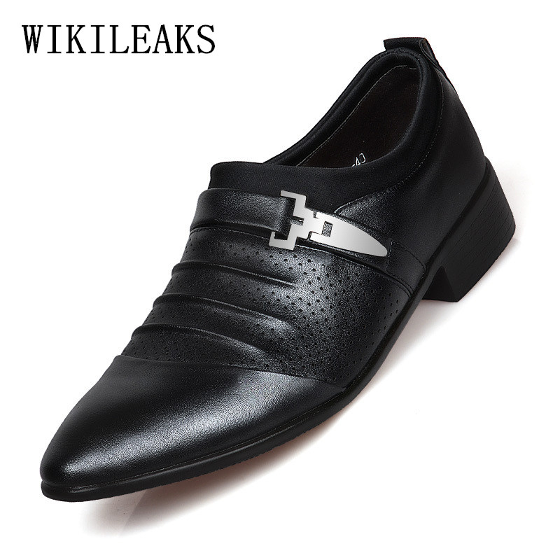 designer luxury mens dress shoes leather italian loafers man shoes formal party office wedding shoes men classic herren schuhe 2015 italian luxury alligator fashion mens dress shoes genuine leather with buckle black flats for man wedding party office 979